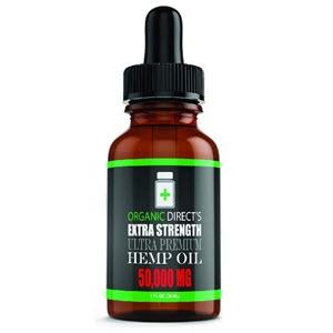 Direct Organics - Hemp Oil