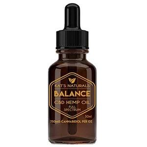 Kat's Naturals - Balance -750 mg CBD Sublingual