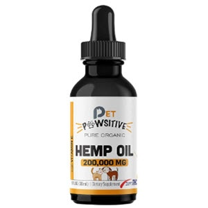 Pet Pawsitive - Hemp Oil for Dogs and Cats