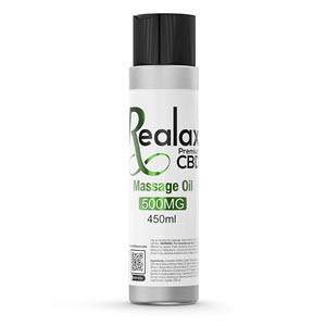 Realax CBD Massage Oil