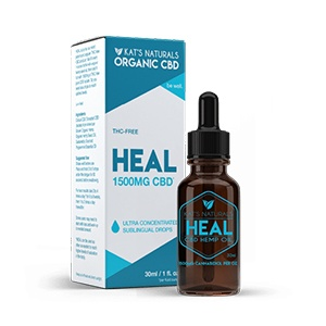 Kat's Natural - Heal 1500 mg CBD Sublingual