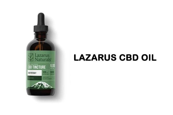 Lazarus CBD Oil Review