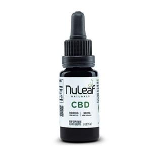 NuLeaf Naturals - Full Spectrum CBD Oil (60mg)