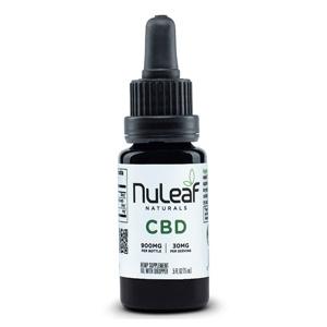 NuLeaf Naturals – Full Spectrum Hemp CBD Oil (60mg/mL)